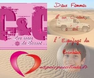 """Nous soutenons l'association """"Les Roses de Bonnot"""" pour espoirpourlinda.fr"""