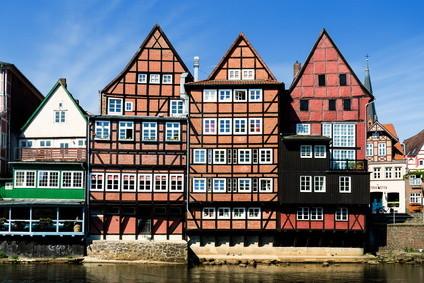 historische Lüneburger Innenstadt
