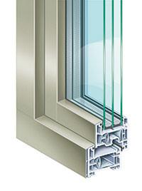 Kunststofffenster, Aluminiumfenster, Isolierglas