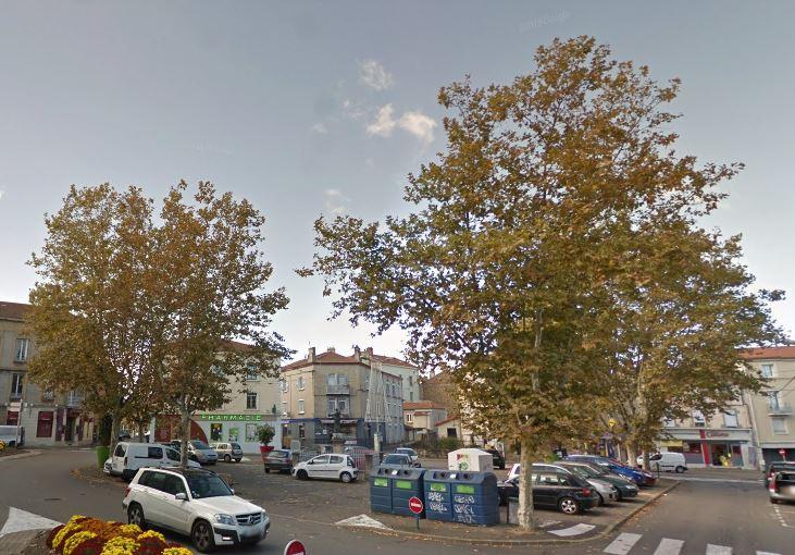 Place de La Valette, avant le saccage organisé