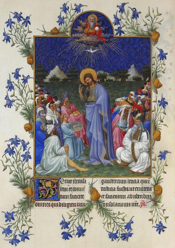 ランブール兄弟『ベリー公のいとも豪華なる時祷書』(1402〜1416年)より