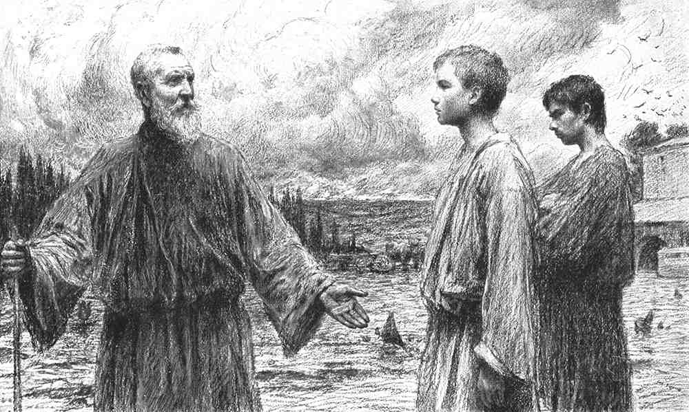 ユーゲン・ブルナンド「二人の息子」(『さまざまなたとえ話』1908年)