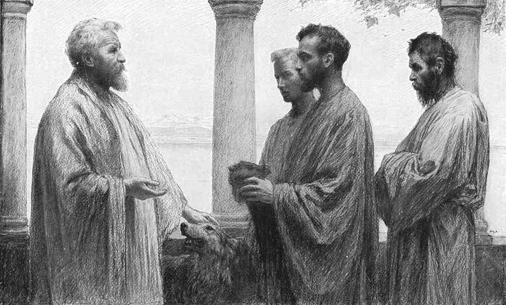 ユーゲン・ブルナンド「タラントン」(『さまざまなたとえ話』、1908年)