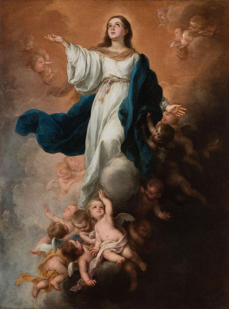 バルトロメ・エステバン・ペレス・ムリーリョ「聖母の被昇天」、1680年頃、エルミタージュ美術館