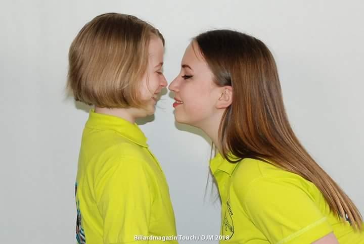 Amy Blaum und Kimberly Puschle - Foto: Billard Magazin Touch