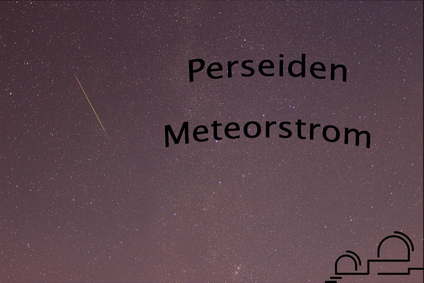 Zeitraffervideo zum Meteorschauer