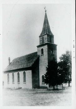 Kirche von New Schwanden, ca 1930