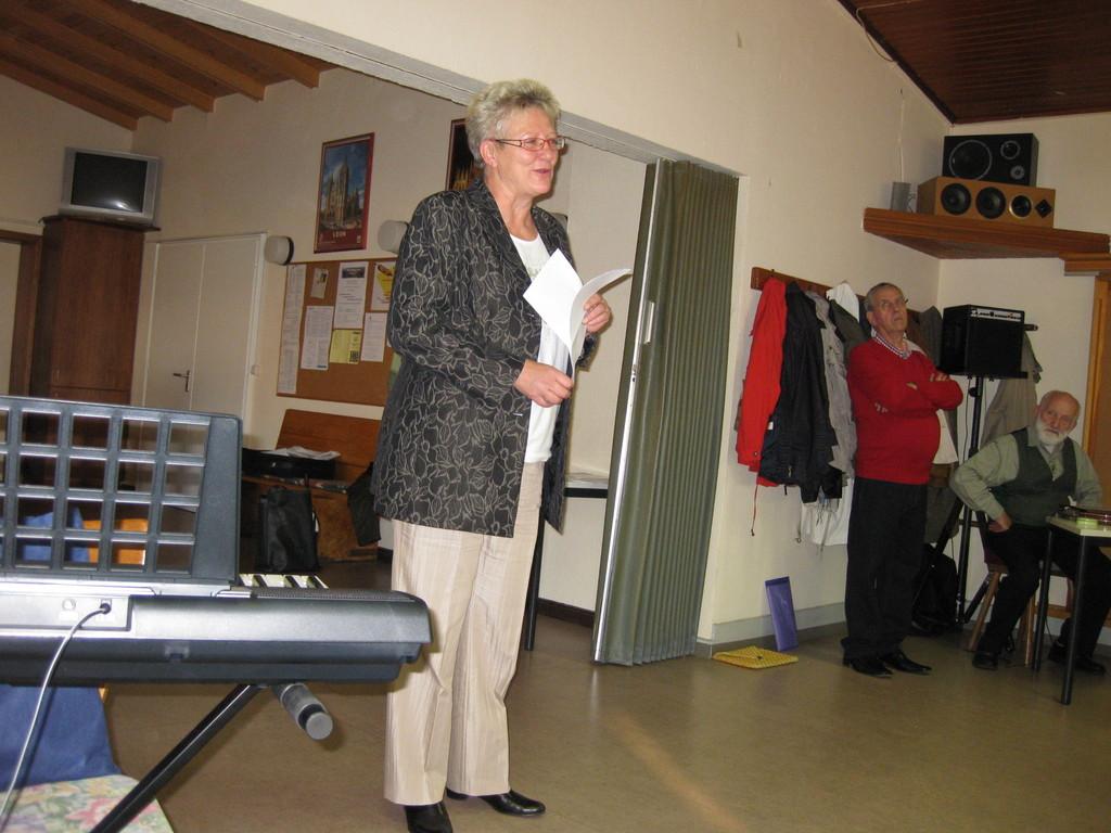 Grußwort der Bürgermeisterin Frau Floren