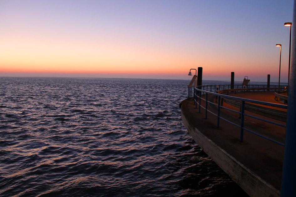 Abendstimmung am Hafen