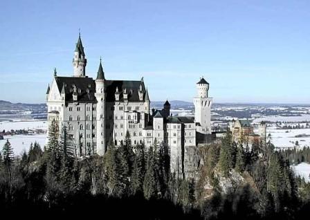 新天鹅堡和旧天鹅堡-德国旅游攻略