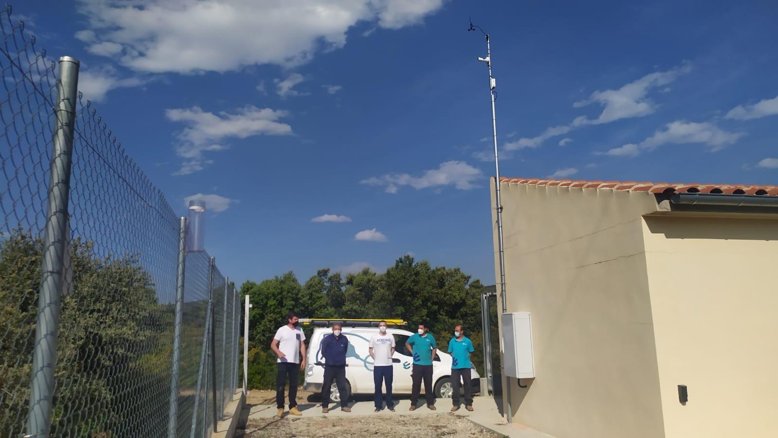 Nova estació meteorològica a la vall de Catí