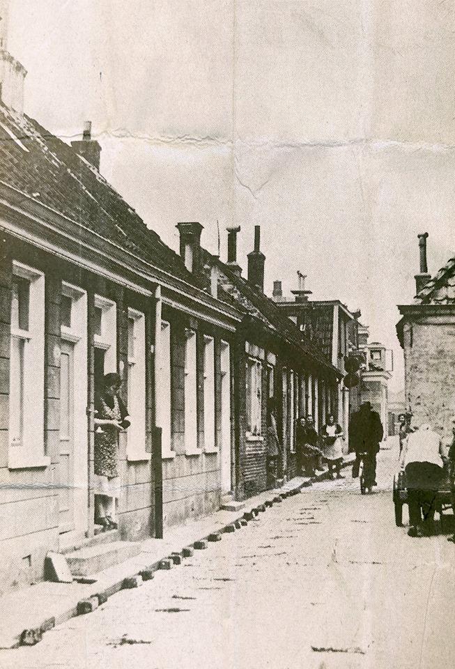 Houtzagerstraat  50-er jaren ooit hete deze straat Houtzagersteeg