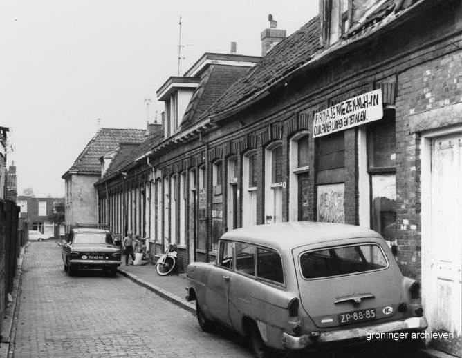 Wittelattenstraat gezien vanaf het oosten 1968