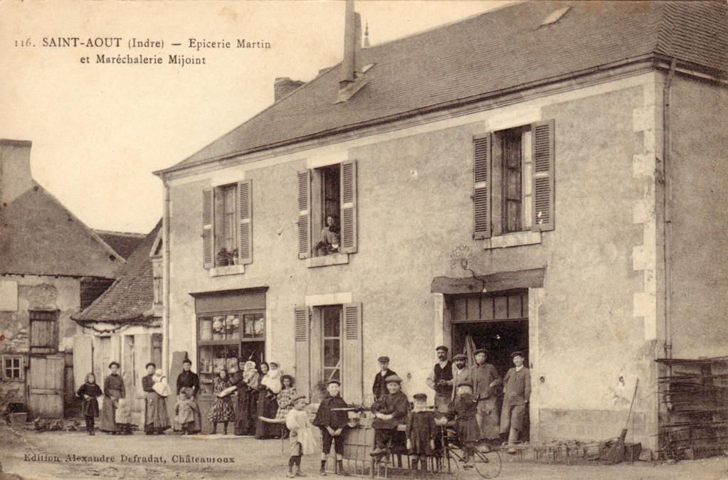 Epicerie Martin et Maréchalerie Mijoint