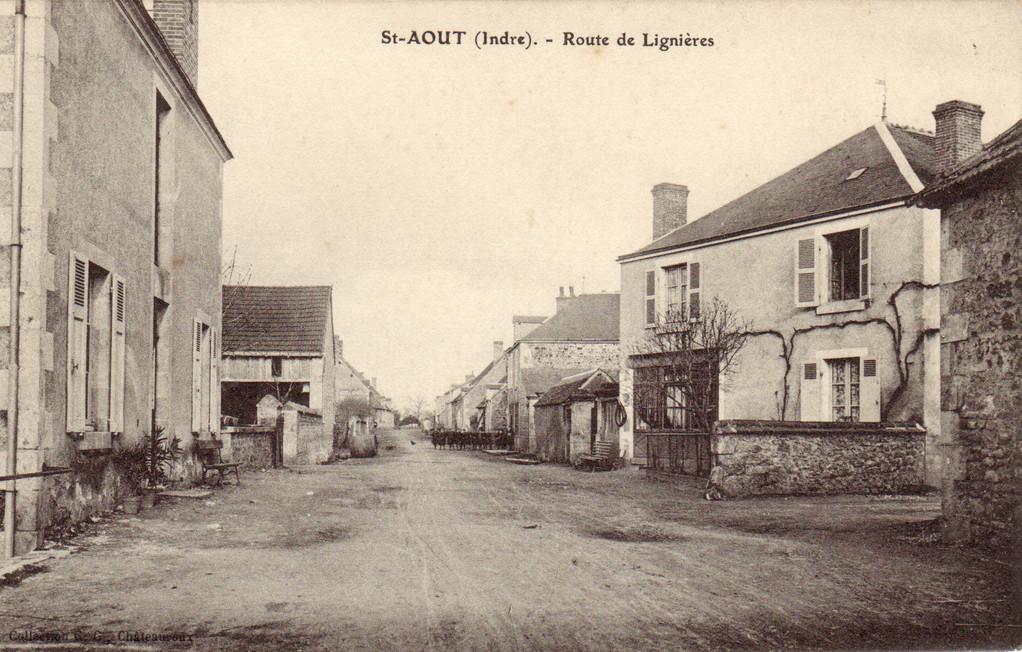 Route de Lignières