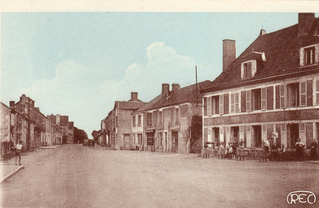 L'Hôtel et la Grande Rue