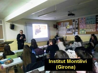 Taller del Mètode Picó a l'Institut Montilivi, de Girona