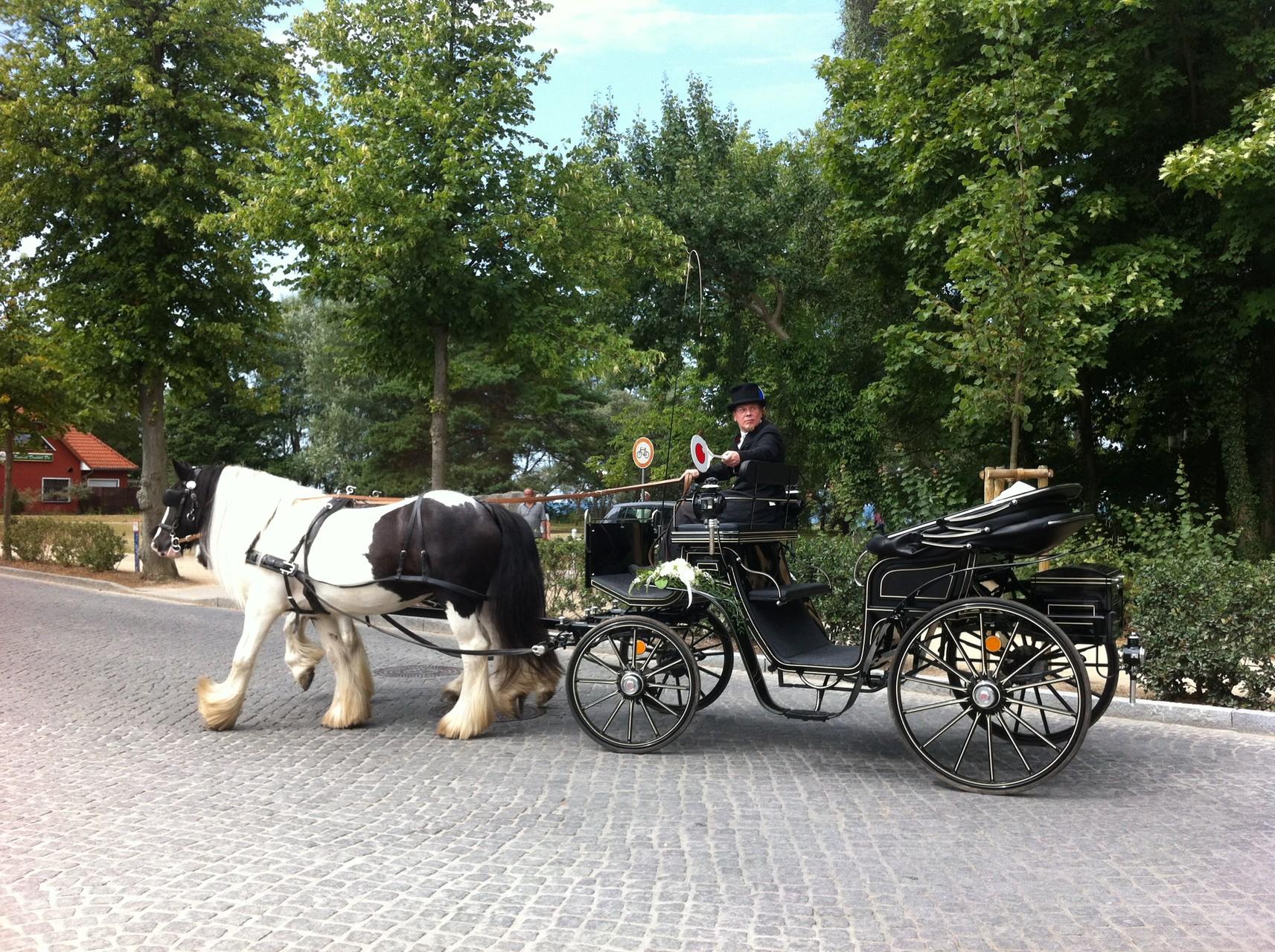 Hochzeitskutsche in Kühlungsborn
