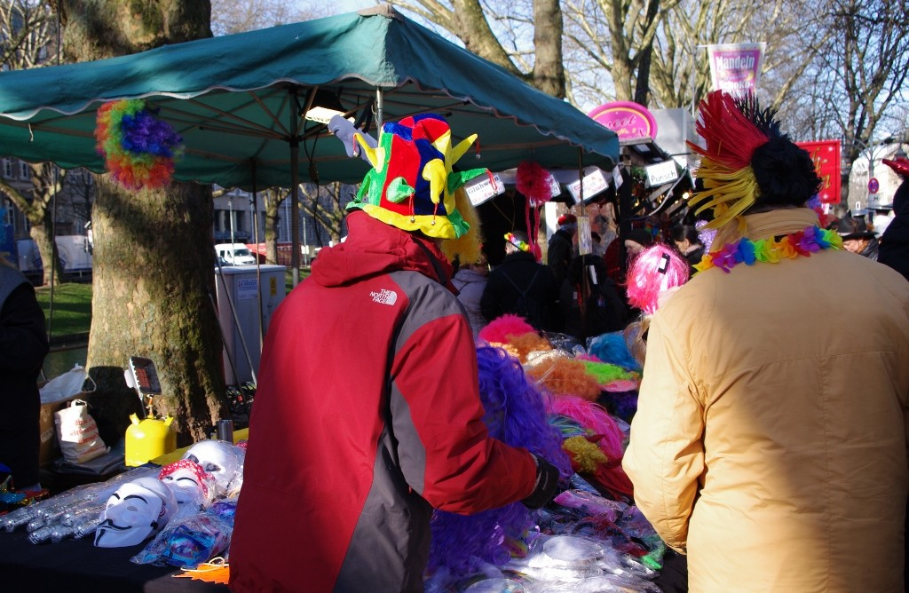 Karnevalsverkeidung für Kurzentschlossene