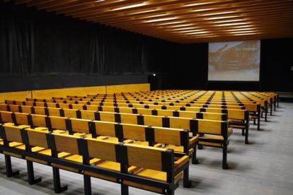 Filmsaal in der Dauer-Ausstellung