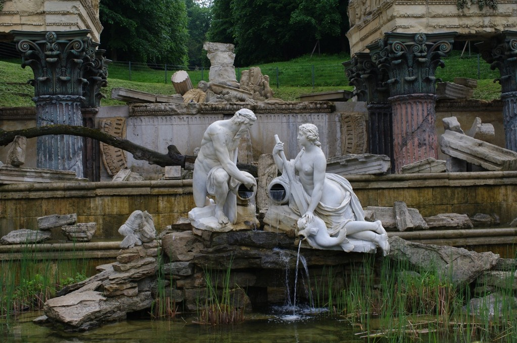 Im Schlosspark Schönbrunn