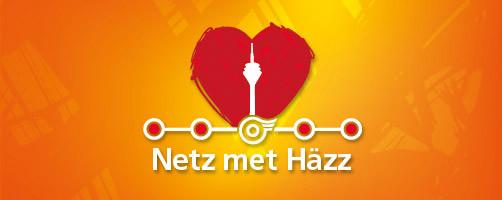 Bildquelle für das LOGO Netz met Häzz: Rheinbahn AG, Düsseldorf