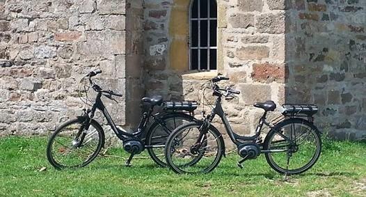 Vélos électriques hautes performances EB80 Pro+, motorisation BOSCH,  batterie 400 Wh, 7 vitesses Shimano, suspension avant et selle large suspendue pour un confort optimum.