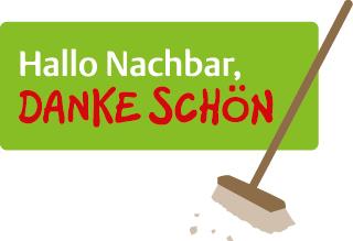 """Neues Logo der Initiative """"Hallo Nachbar, Danke schön"""""""