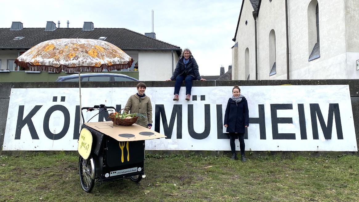 """""""Wie geht's?"""" – Küchenmobil für Köln-Mülheim"""