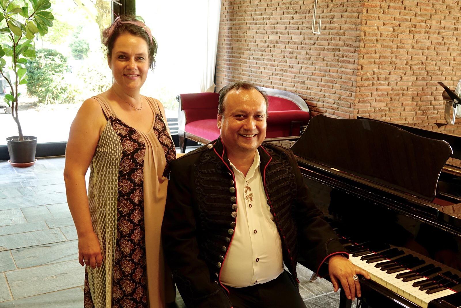 Julio Graf von Arancibia (Klavier)