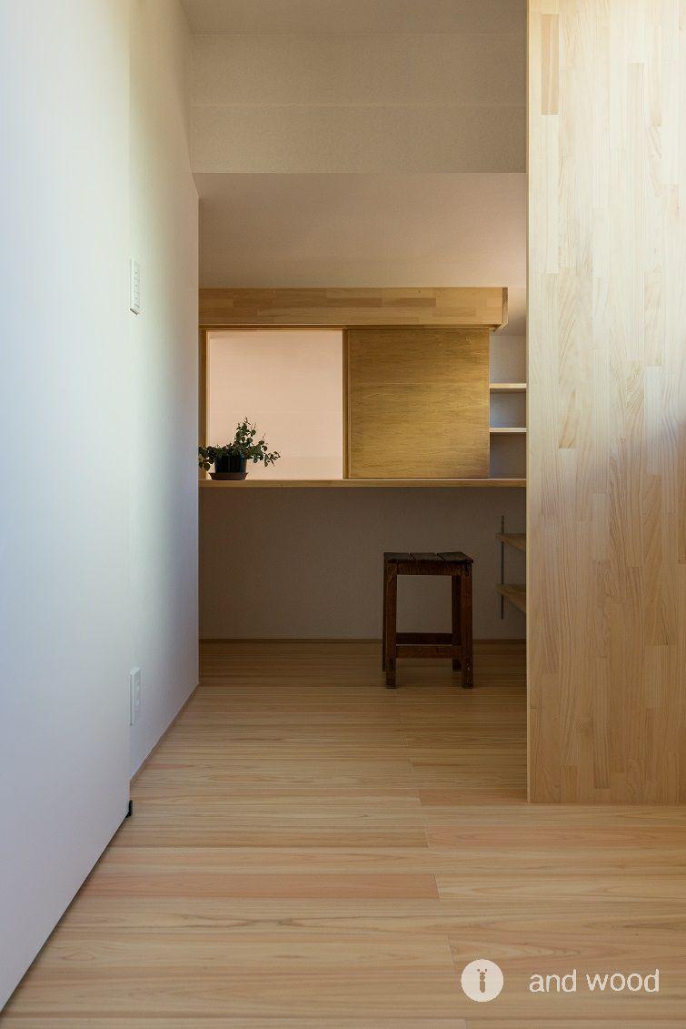 桧 ヒノキ フローリング アンドウッド 加藤淳一級建築士事務所  8