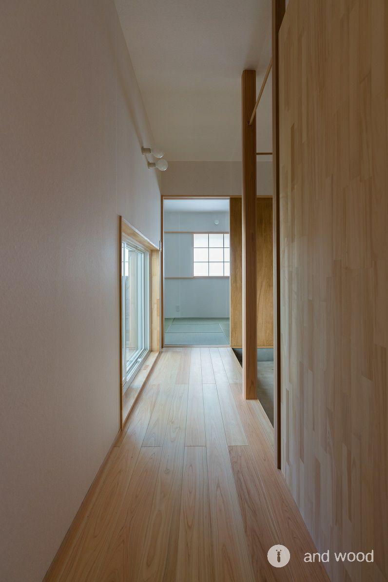 桧 ヒノキ フローリング アンドウッド 加藤淳一級建築士事務所  6