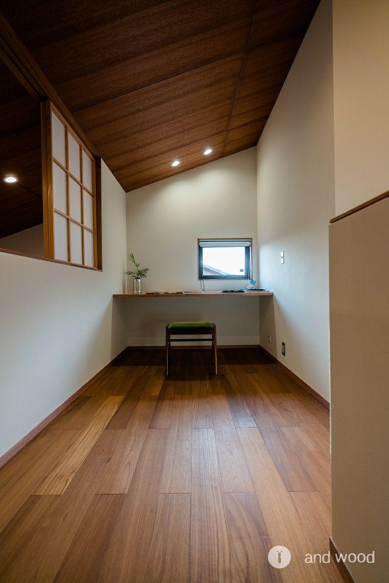 チーク 施工例 床暖房 無垢フローリング アンドウッド andwood