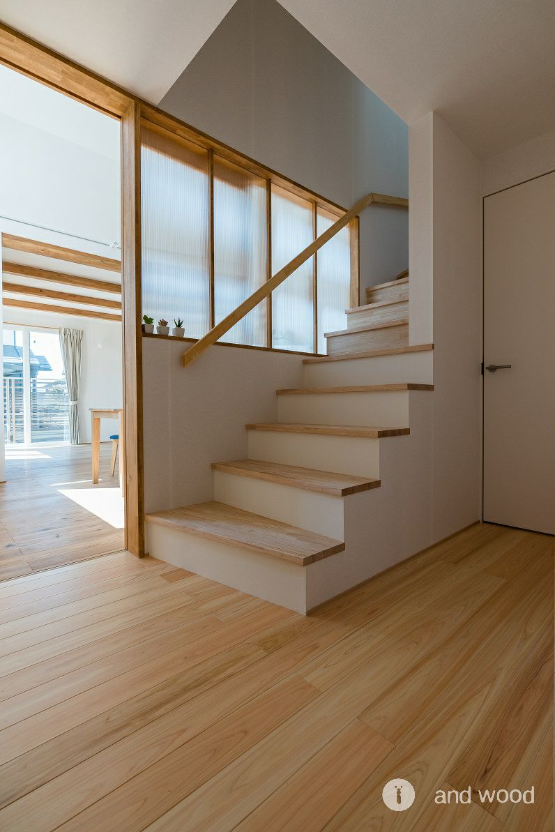 桧 ヒノキ フローリング アンドウッド 加藤淳一級建築士事務所  3