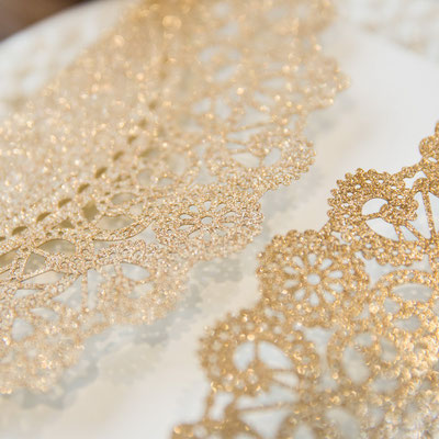 Glitter Lasercut Hochzeitskarte #GL0067