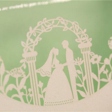 Lasercut Hochzeitskarte Wedding 3D Karte #I do