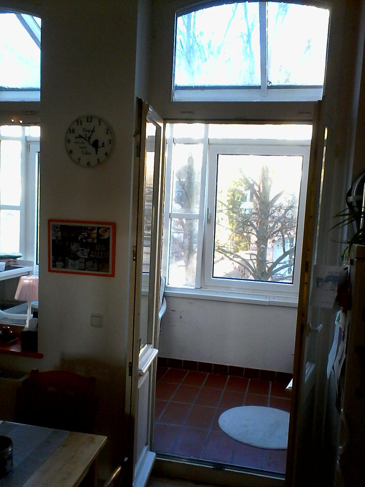 Blick Küche ---> Wintergarten