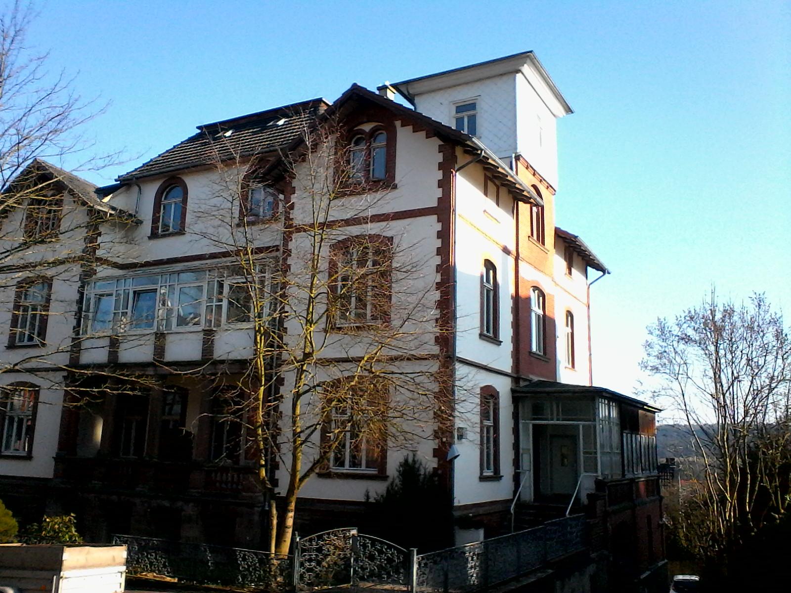 Haus Hufelandstraße 13 von der Seite