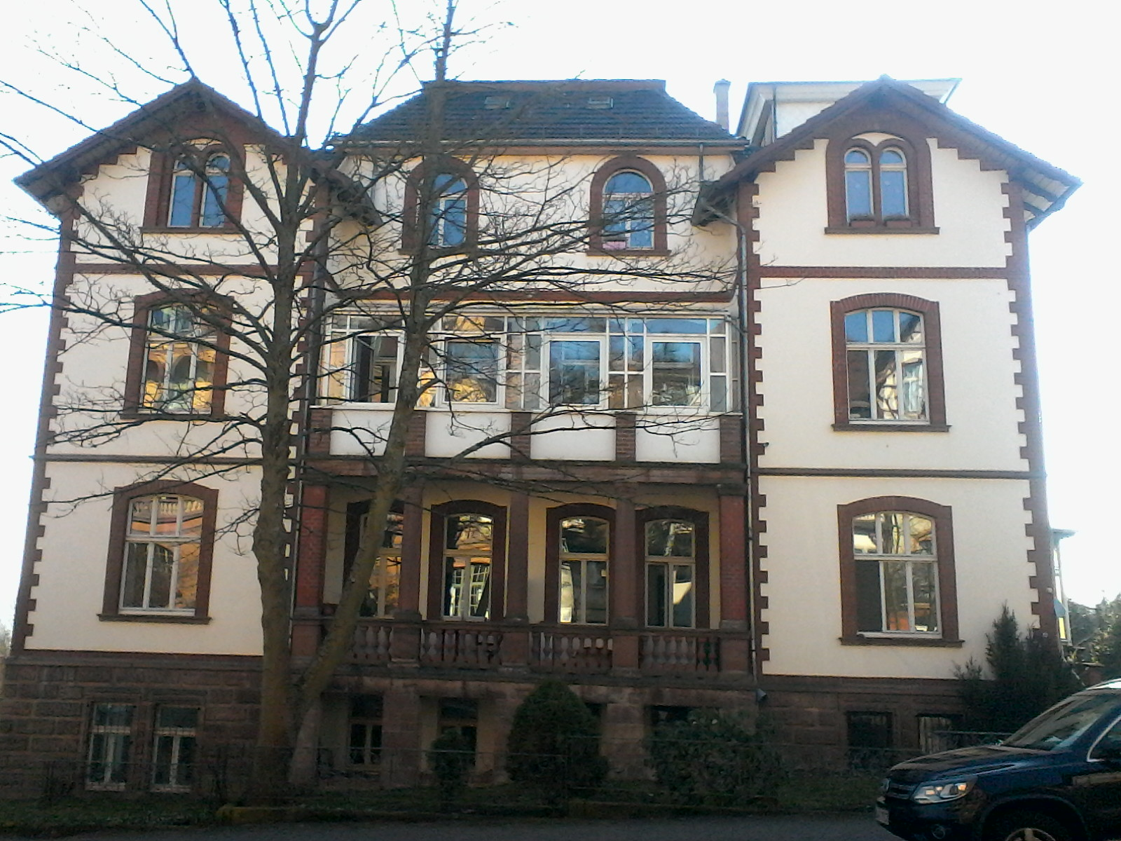 Haus Hufelandstraße 13 Frontal