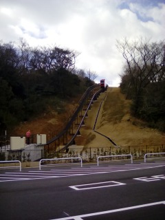 生駒山上遊園地 モノレール テントウムシ君 500円 300円