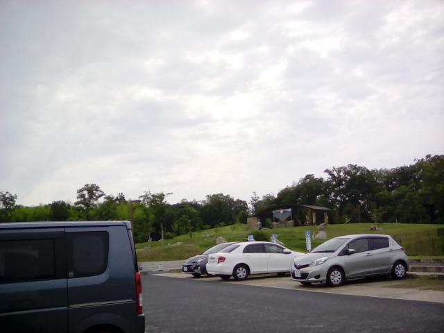 馬見丘陵公園平日の駐車場具合