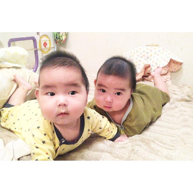 双子 生後6か月