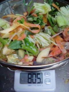 くず野菜スープ