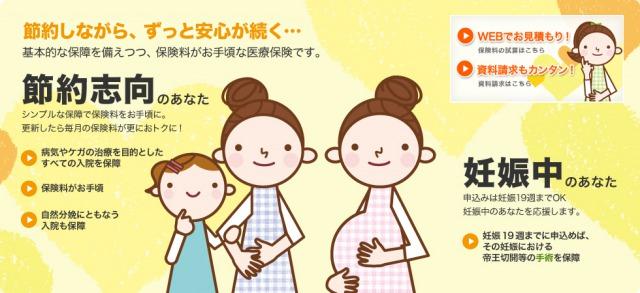 妊婦加入保険