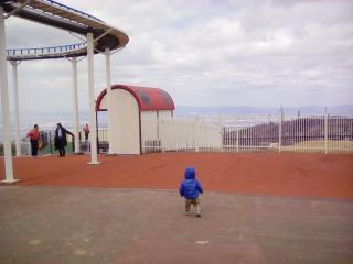 生駒山上遊園地 1歳 3歳 景色