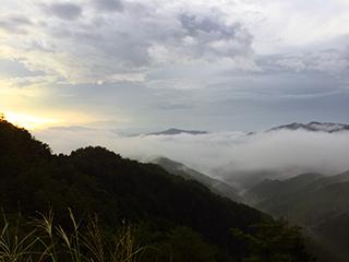 雲海出現の条件 雲海撮影