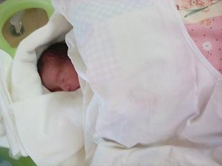 GCUに入院、赤ちゃん