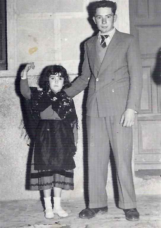 Aurora Herranz y Eugenio González Herranz