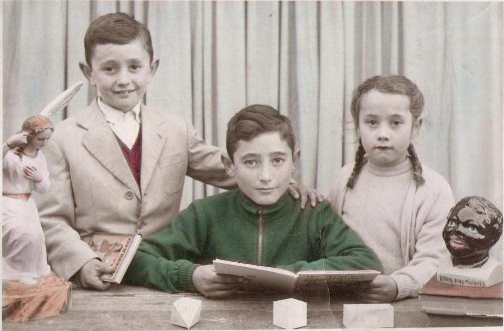 Doroteo, Isidoro y Mª Isabel de Frutos Gonzlález