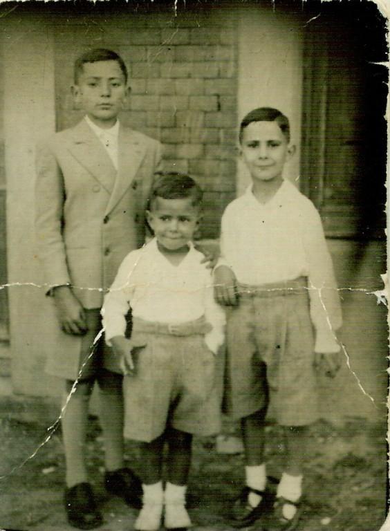 Eugenio, Danie y José Luis González Herranz